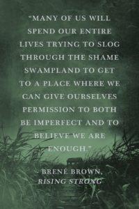 Shame swamp