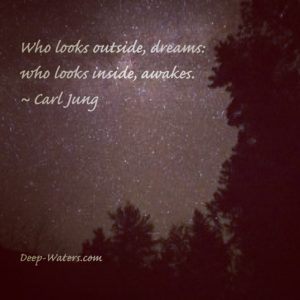 Your vision will become clear when you can look into your own heart.